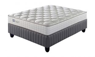 Sealy Willowbridge Firm Queen Bed Set Extra Length