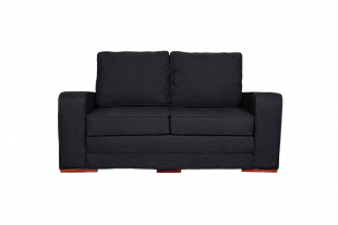 Bella Sleeper Couch - Charcoal