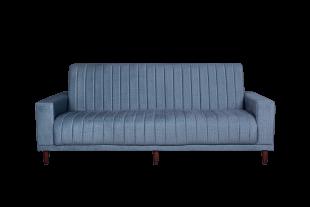 Retro Sleeper Couch - Light Blue