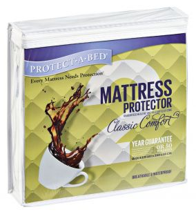 Protect-a-Bed Classic Comfort Three Quarter Standard Length