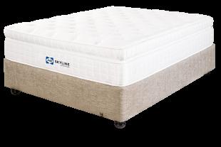 Sealy Skyline Ultra Plush King Bed Set Standard Length