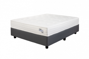SlumberKing Gala Medium Double Bed Set Standard Length