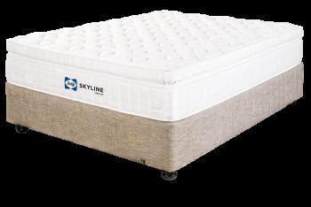 Sealy Skyline Medium Queen Bed Set Standard Length