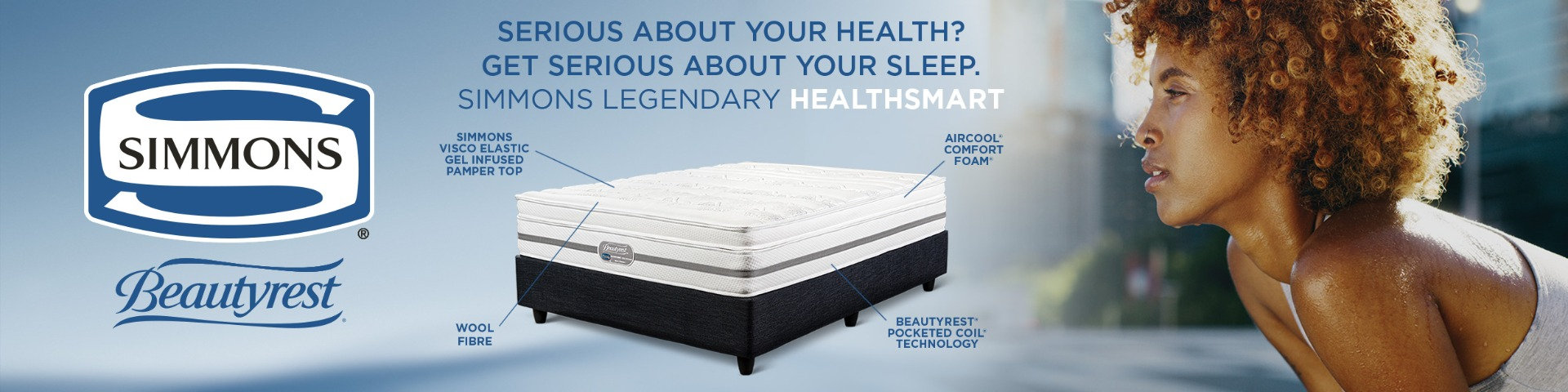 Brand - Simmons beds